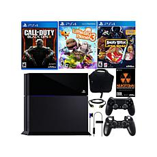 PS4 COD: Black Ops III/LittleBigPlanet/Angry Birds