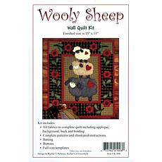 "Rachel's of Greenfield Wooly-Sheep Wall Kit - 13"" x 15"""