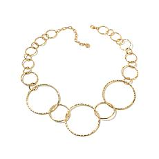 "R.J. Graziano ""Boho Lux"" Overlapping Circle Necklace"