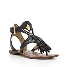 Sam Edelman Giblin Leather Bead & Tassel Sandal