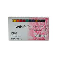 Shiva Artist's Paintstik Oil Color Sets - Set of 12