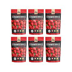 Simple Kitchen 6-pack Freeze-Dried Strawberries