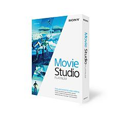 "Sony ""Movie Studio 13 Platinum"" Video Editing Software"