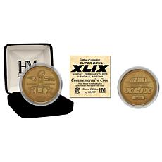 Super Bowl XLIX Bronze Flip Coin