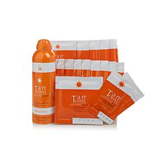 TanTowel® 17pc Sunless Tanning Kit with Bronzing Mist