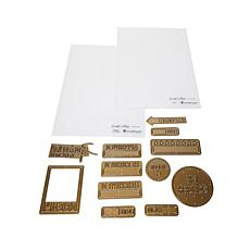 Teresa Collins Noteworthy Emboss Folders & Die Set