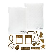 Teresa Collins Thankful Emboss Folders & Steel Die Set