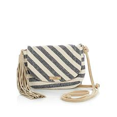 "TOMS ""Venice"" Woven Crossbody with Suede Trim"