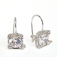 Victoria Wieck 3.19ct Absolute™ Round Drop Earrings