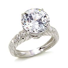 Victoria Wieck 5.27ct Absolute™ 100-Facet Round Ring