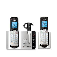 VTech Connect to Cell DECT 6 2pk Cordless Phone System