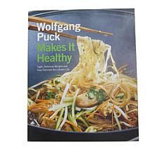 """Wolfgang Puck Makes It Healthy"" Handsigned Cookbook"
