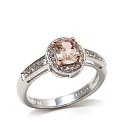 "Colleen Lopez ""At First Blush"" Morganite and Gem Ring"