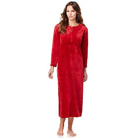 Concierge Collection Soft & Cozy Zip-Front Robe