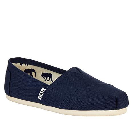 TOMS Classic Canvas Slip On-Womens