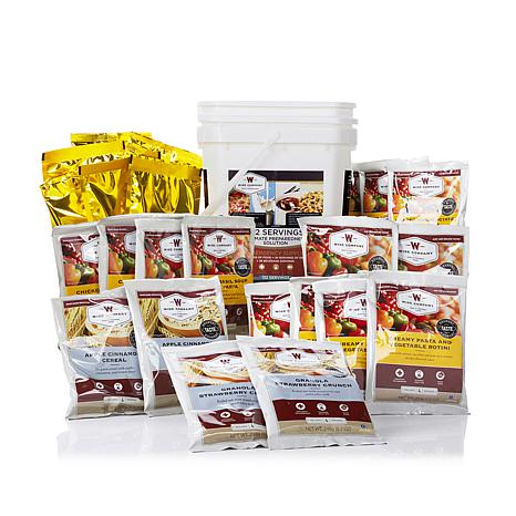 Wise Company Emergency Meals Kit with 132 Servings