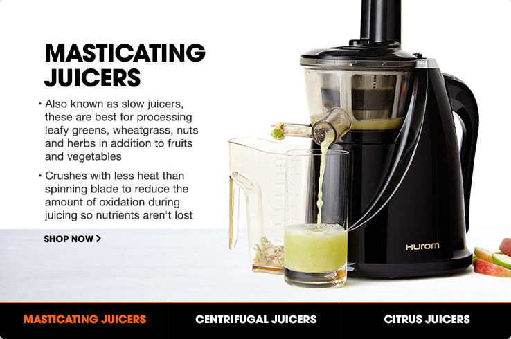 Which Is Better Masticating Juicer Or Centrifugal : New Arrivals Juicers HSN