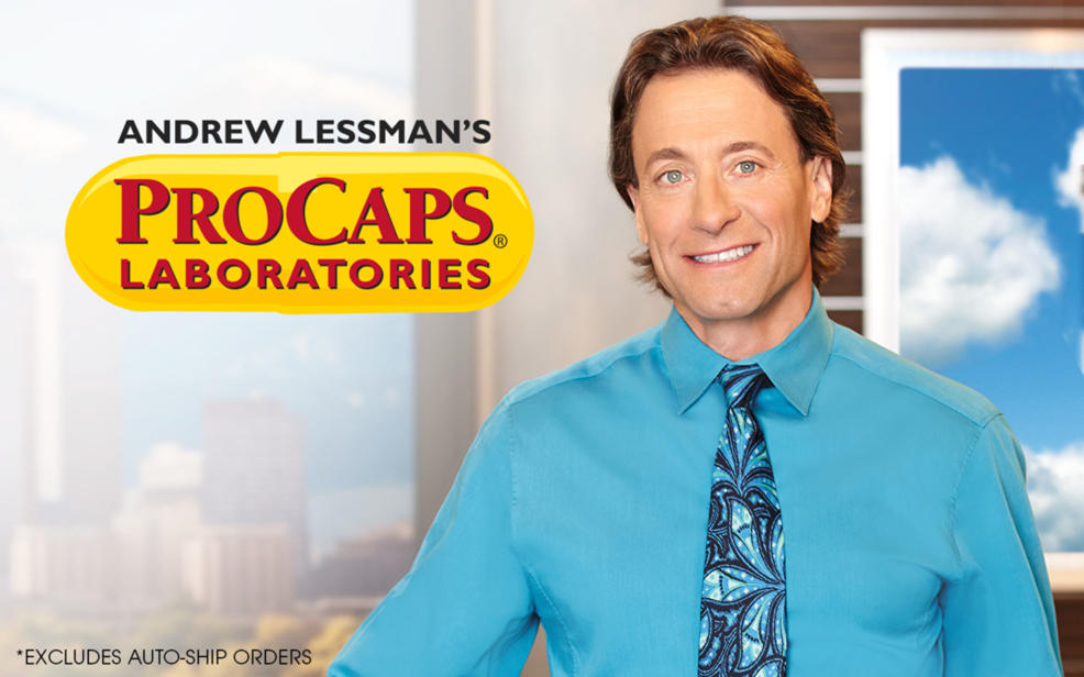 andrew lessman's procap laboratories. Offer excludes auto-ship orders