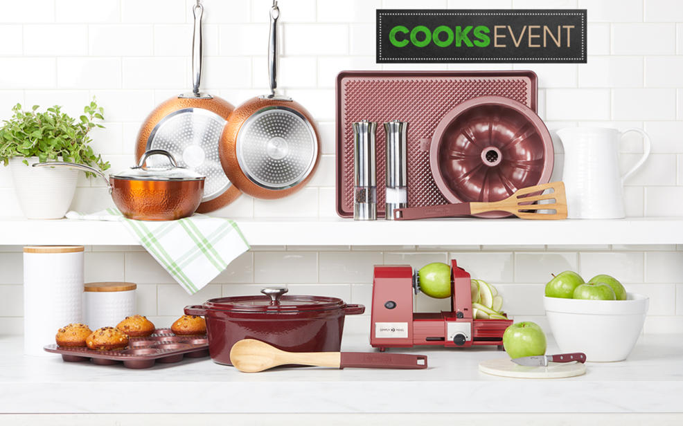 Up to 25% off and 5 FlexPay on Food & Wine, Michael Symon and other cookware