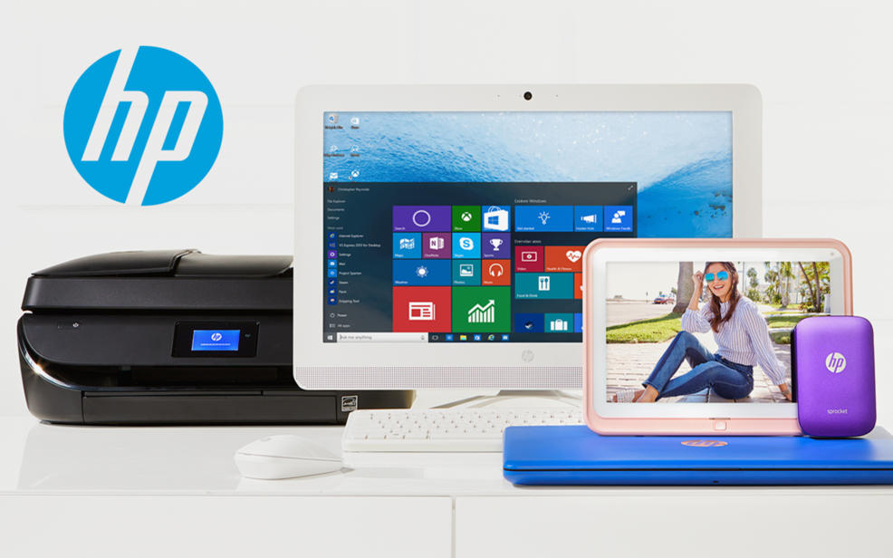 HP computers, tablets and printers