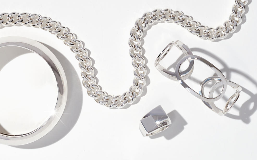 Wear a little sparkle with up to 40% off sterling silver jewelry