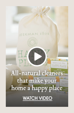 All-natural cleaners that make your home a happy place