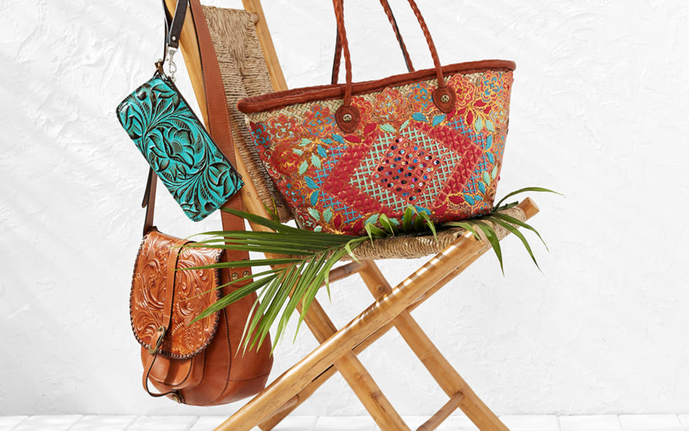 Carry on through the season with up to 40% off Patricia Nash