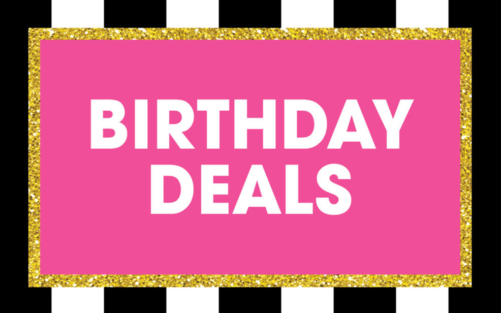 Birthday Deals