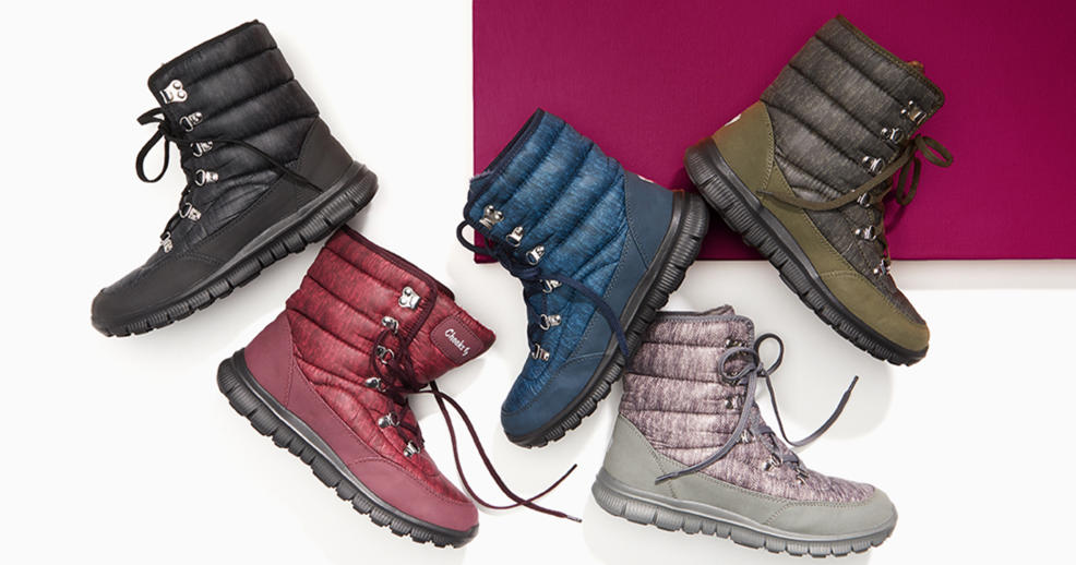 Fit Body Quilted Sneaker Boot with Gel
