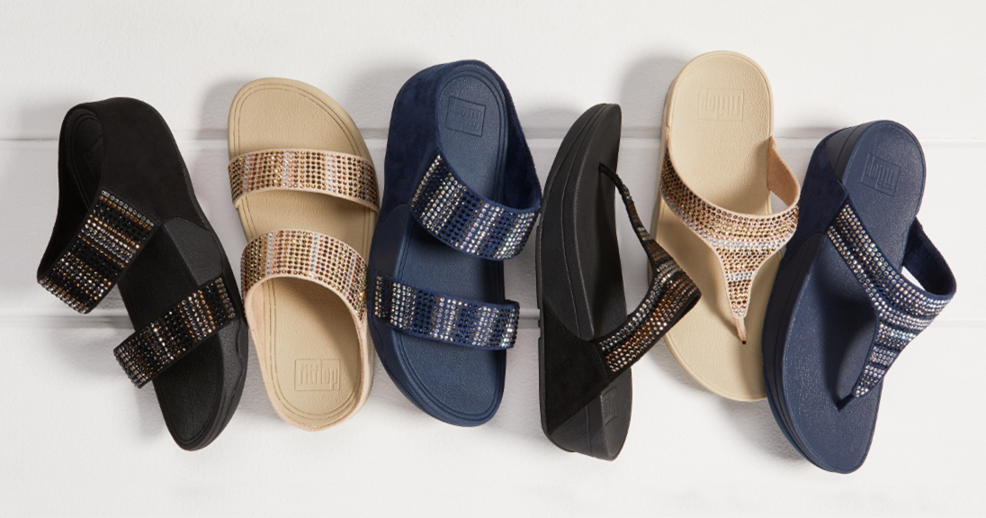 4a5fc0d0f23 HSN) FitFlop Flare Strobe Sandal - TVShoppingQueens