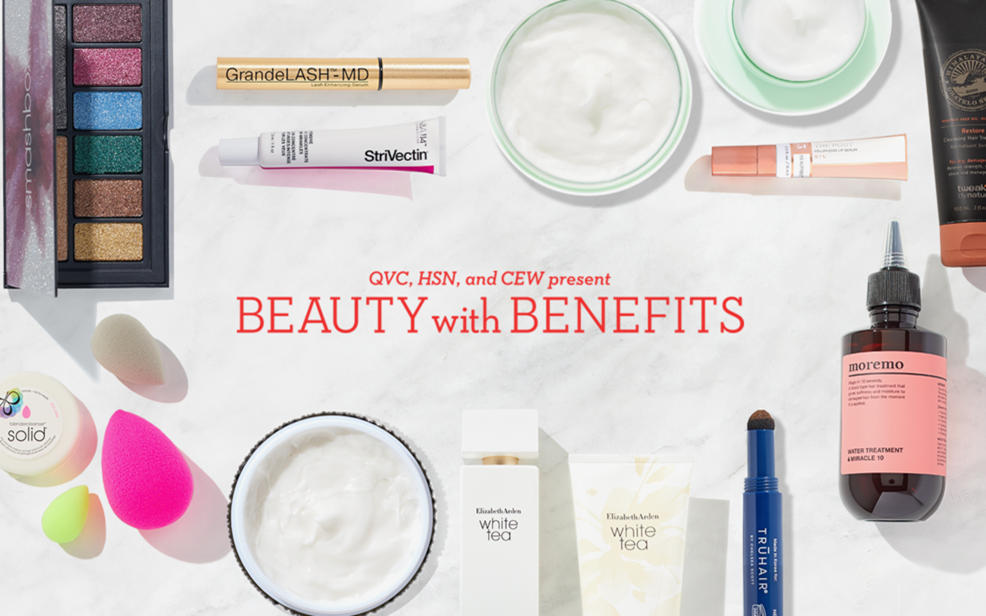 QVC, HSN, and CEW present Beauty with Benefits