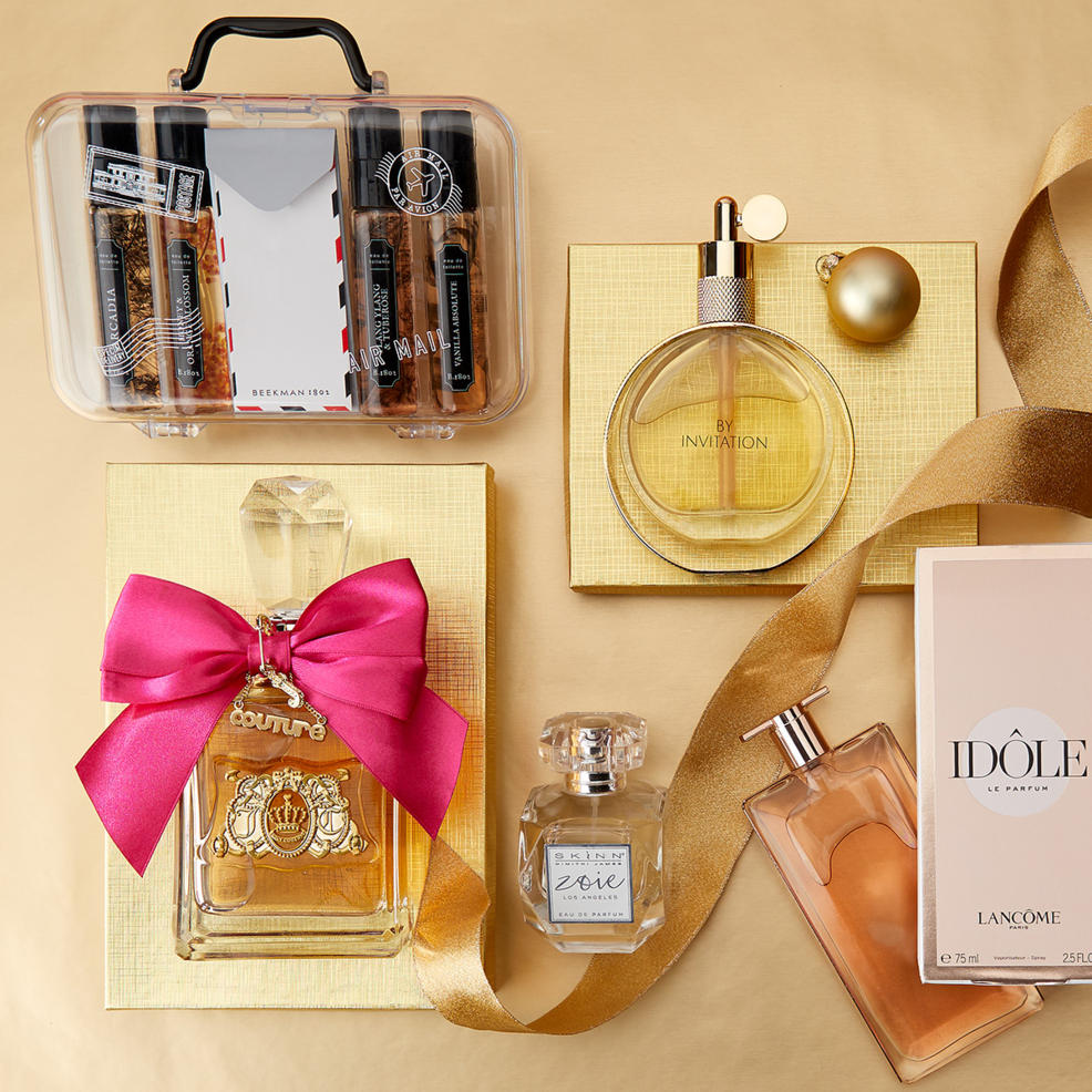 Fragrance gifts from top brands