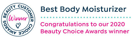 Beauty customer choice awards. best body moisturizer. congratulations to our 2020 beauty choice awards winner