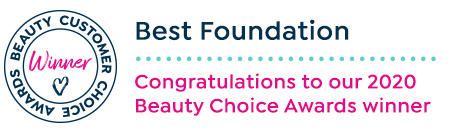 Beauty customer choice awards. best foundation. congratulations to our 2020 beauty choice awards winner