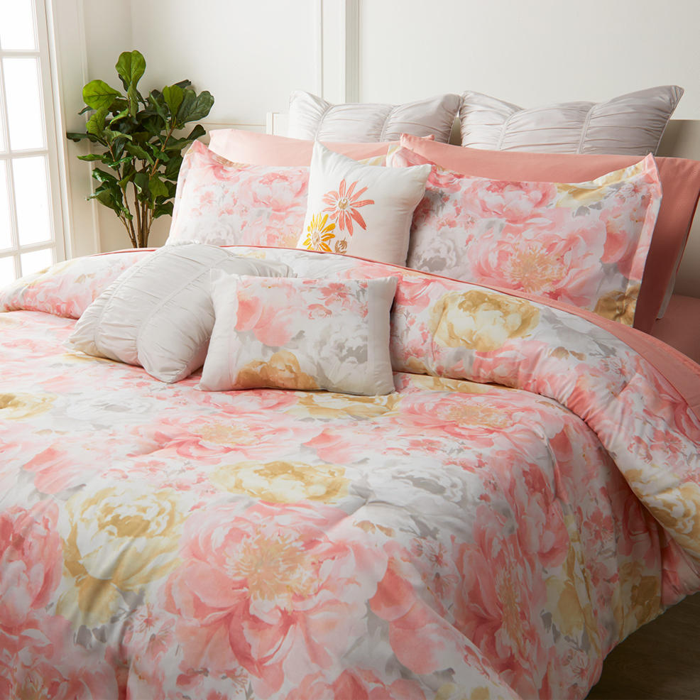Pastel bed covers