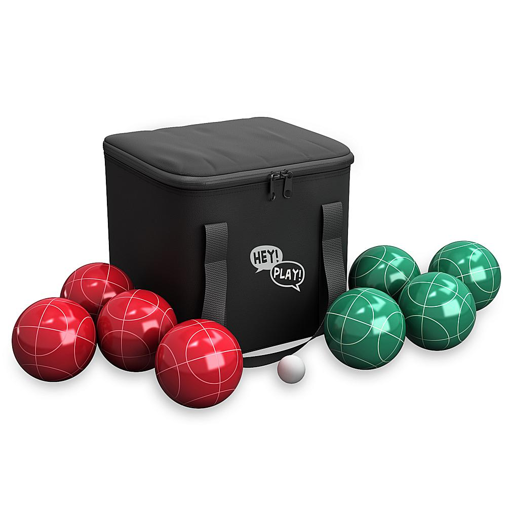 Trademark Global,  Inc. Full Size Premium Bocce Set with Easy Carry Nylon Bag
