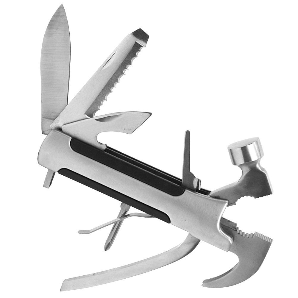 Trademark Global, Inc. Multi-Function 8-in-1 Camping Tool