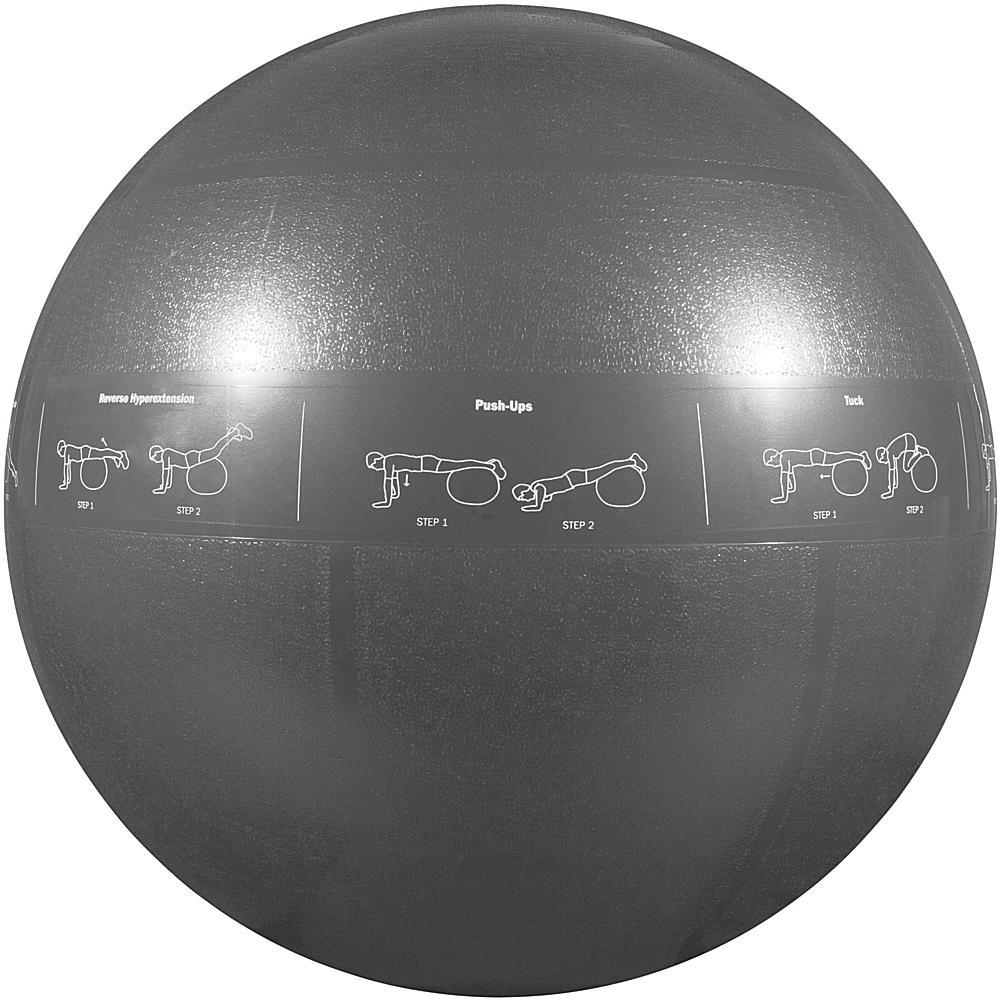 GoFit(R) GF-75PRO Professional Grade Core Stability Ball (75cm; Silver)