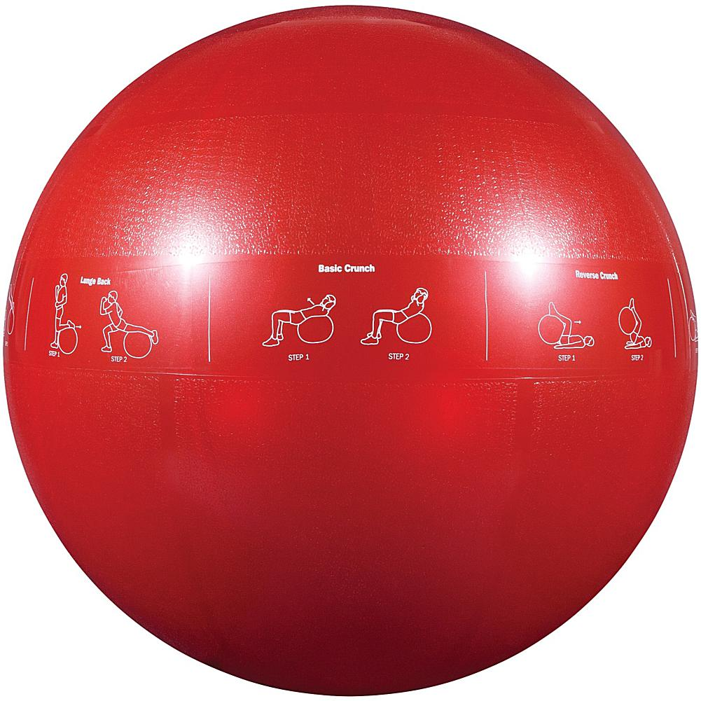 GoFit(R) GF-65PRO Professional Grade Core Stability Ball (65cm; Red)