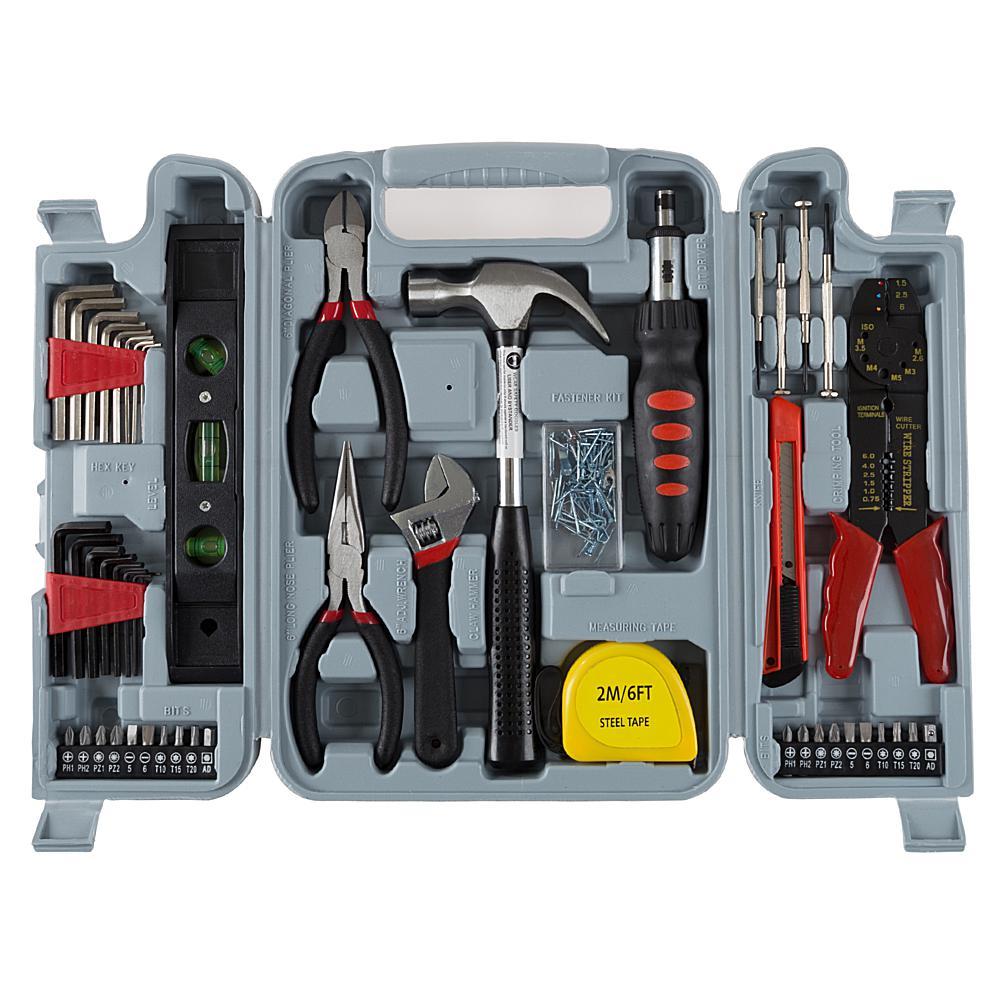 Trademark Global, Inc. 130-piece Hand Tool Set
