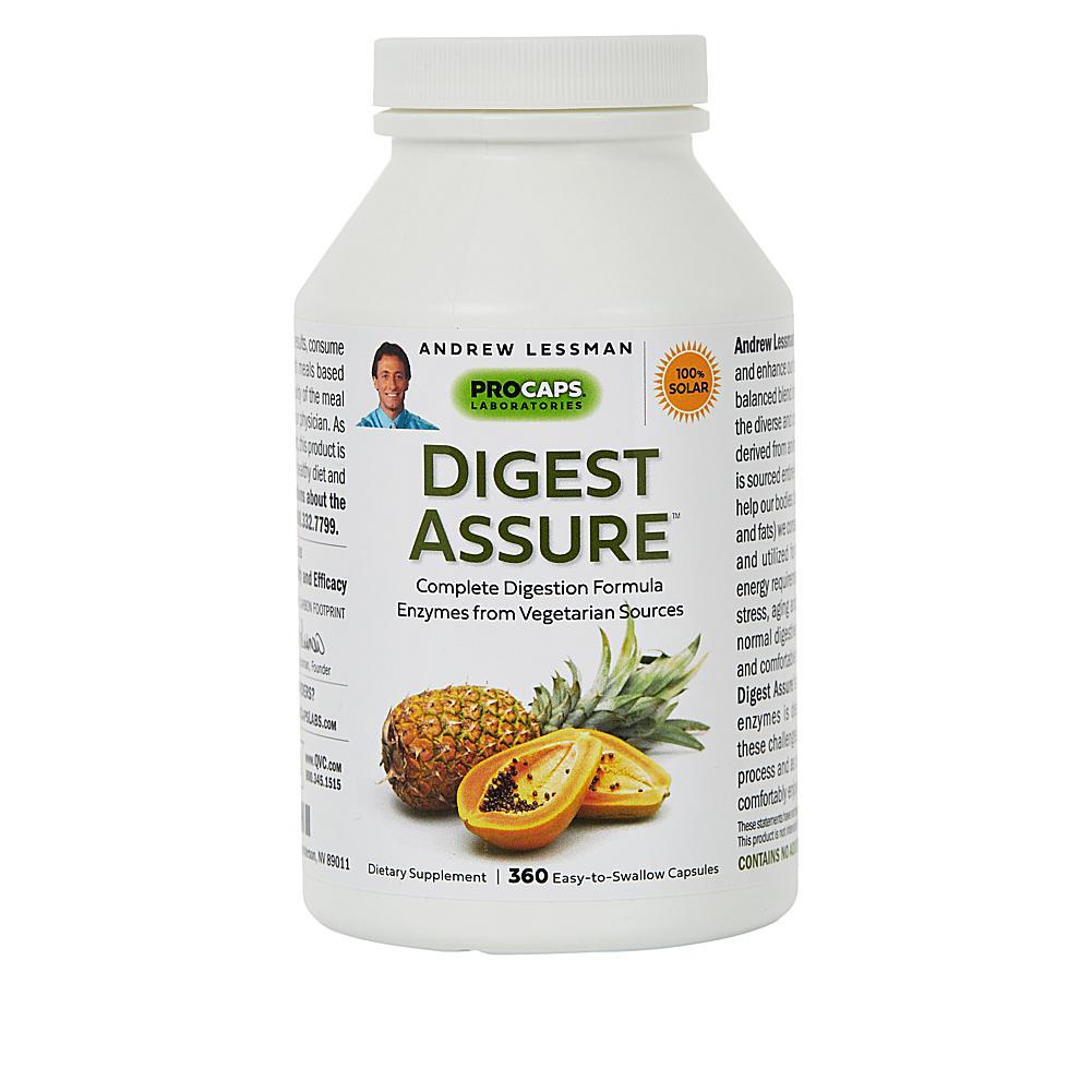Andrew Lessman Digest Assure - 360 Capsules