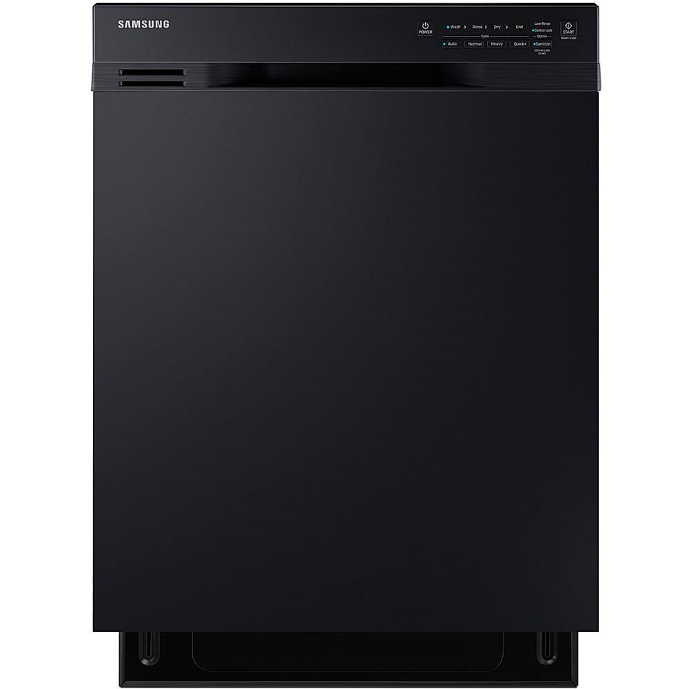 Samsung 24 Dishwasher with Adjustable Rack - Black