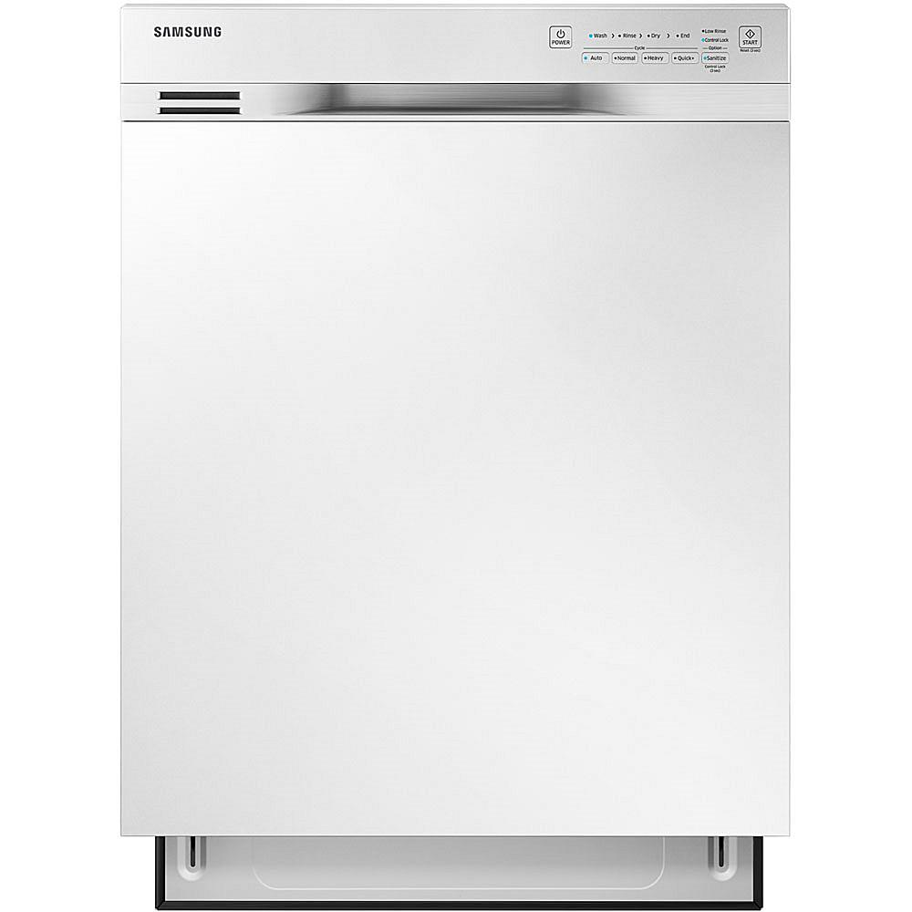 Samsung 24 Dishwasher with Adjustable Rack - White