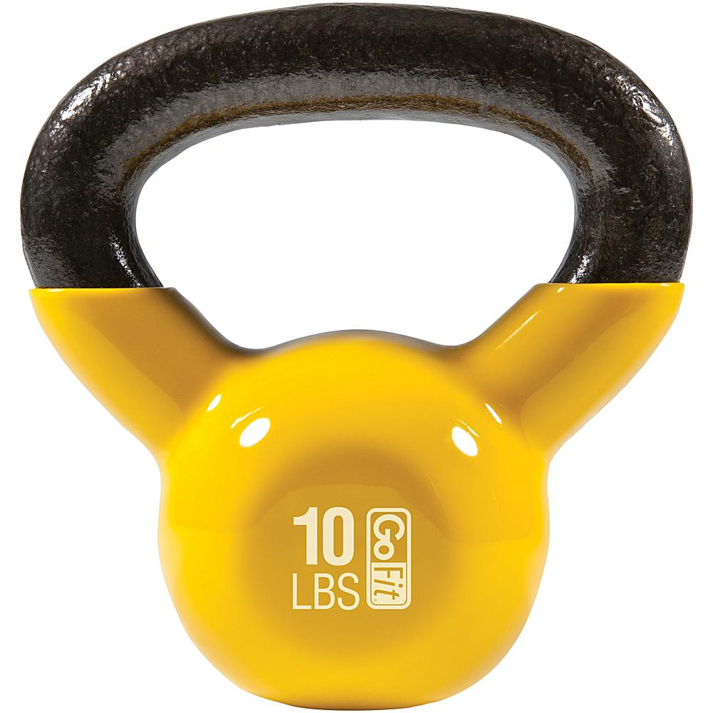GoFit(R) GF-KBELL10 Kettlebell (10lbs; Yellow)