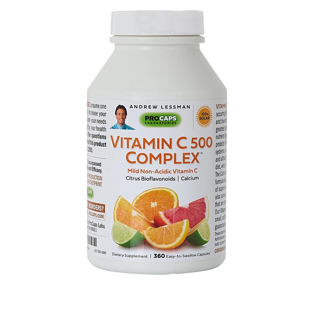 Andrew Lessman Vitamin C-500 Complex - 360 Capsules
