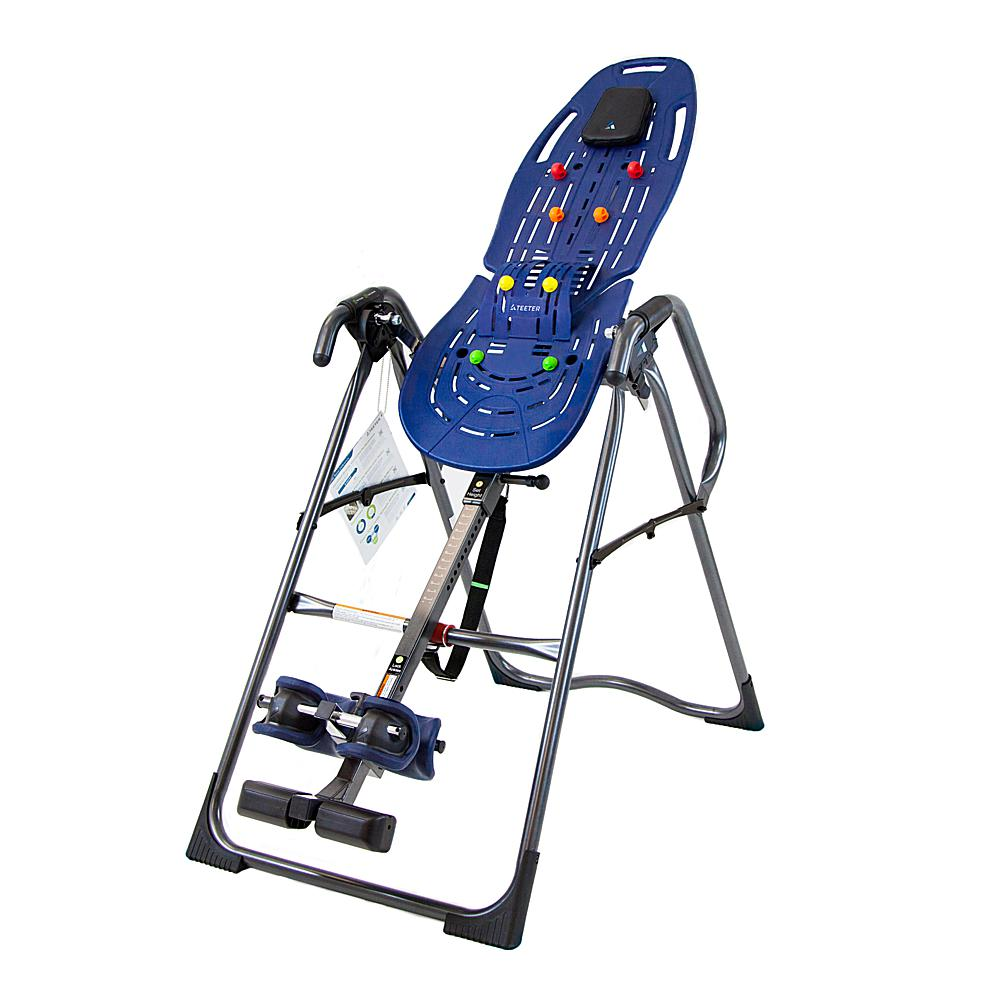 Teeter EP-860 Ltd. Inversion Table with Flexible ComforTrak Bed, Lumbar Bridge and Acupressure Nodes
