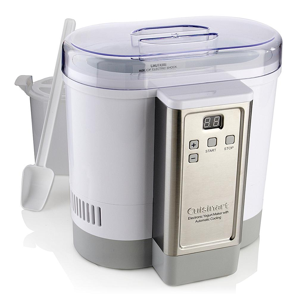 Cuisinart Electronic Auto-Cooling Yogurt Maker with Recipes