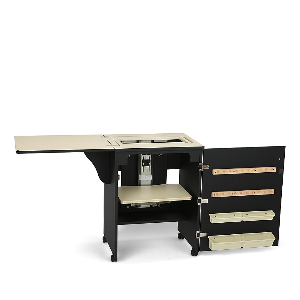 Arrow Tables & Cabinet Arrow Compact Airlift Sewing Machine Cabinet - Black