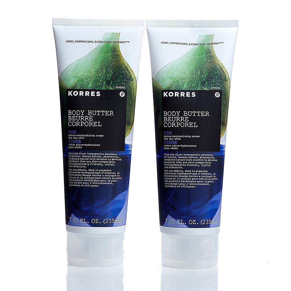 Korres Fig Body Butter Duo