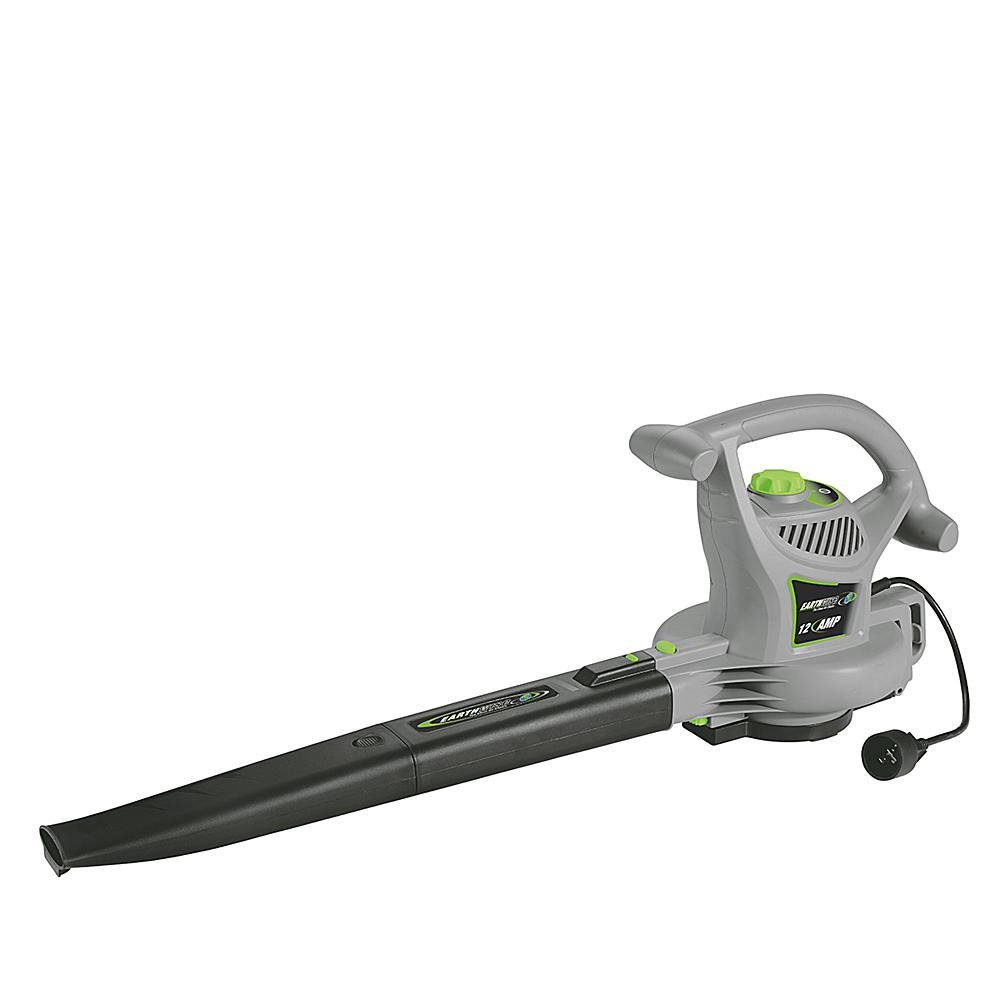 EARTHWISE 12-Amp Corded 3-in-1: Blower-Vacuum-Mulcher